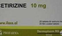 Cetirizine 10 mg Profarma