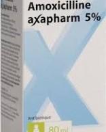 Amoxicillin Axapharm 5% (suspension)