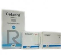 Cefadril (tableta)