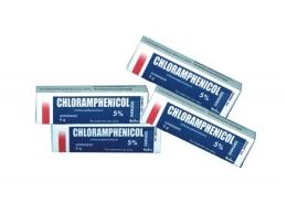 Chloramphenicol pomade