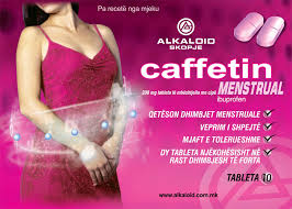 caffetin menstrual