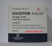 Diazepam Alkaloid 10 mg/2 ml (tretësirë për injeksion)