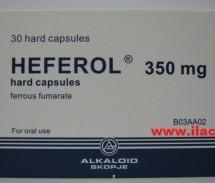 Heferol 350mg (kapsula të forta)