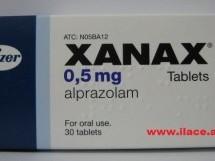 XANAX 0.5 mg tableta