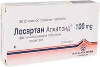 Losartan Alkaloid 100 mg (film-tableta të mbështjellura)