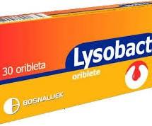 Lysobact (tablet që shkrihen në gojë)