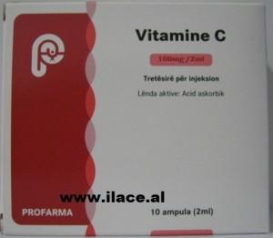 VITAMINE C Tretësirë për injeksion