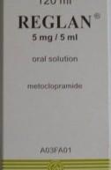 REGLAN® 5 mg/5 ml tretësirë orale