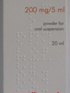 HEMOMYCIN pudër për suspension oral 200mg/5ml