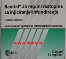 Ranital® 50 mg/2 ml – Tretësirë për injeksion