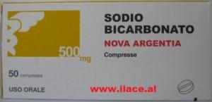 sodio bicarbonato