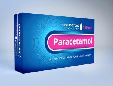 paracetamol 125mg suposto