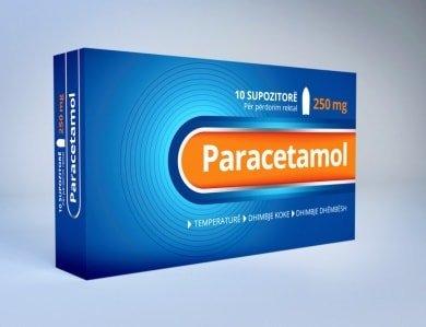 paracetamol 250mg suposto