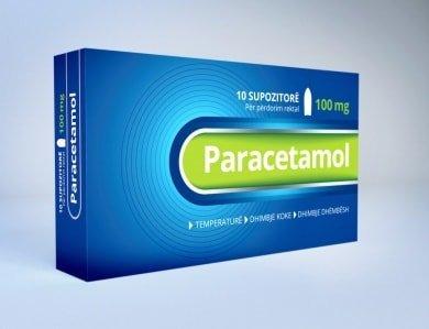 paracetamol 100mg suposto
