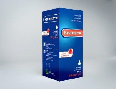 paracetamol shurup